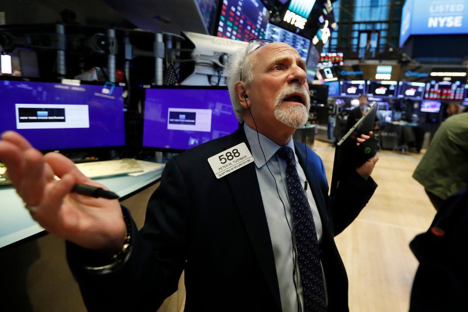 Get latest info from a stock market news website