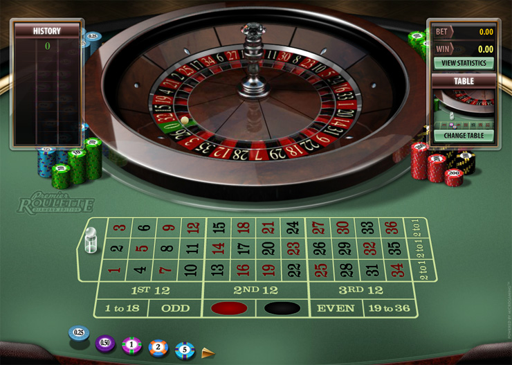 Playing Roulette in an Online Casino